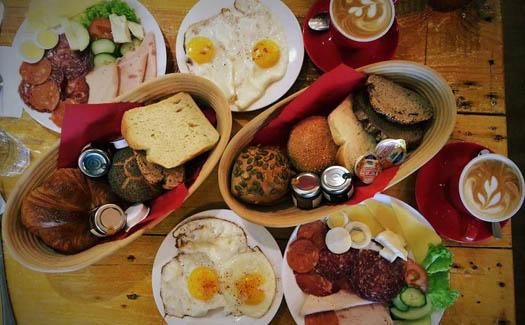 German breakfast, via facebook.com/mybackmeister