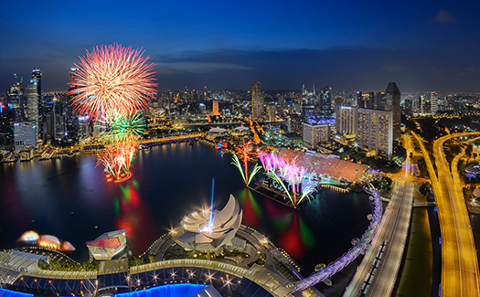 Best places in Singapore for a New Year's kiss 3