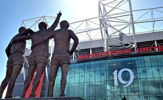 Paul, 19 Premier League Titles - Old Trafford, Manchester United, via Flickr CC BY 2.0